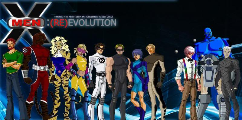 X men evolution blob